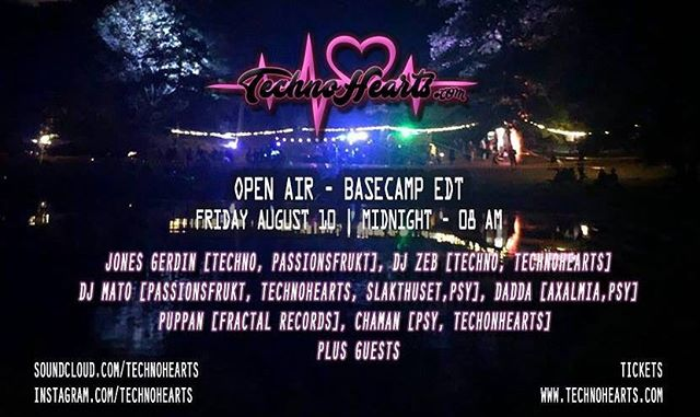 Its Time for some more fun #openair #techno #technohearts @djzebofficial @glitt3rclit @djpuppan @djmato72 @jonesgerdin @ronny_kwizt