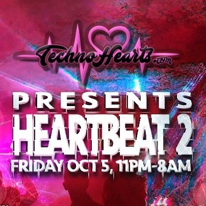 HeartBeat II - Billetto (TICKETS) #technohearts #events #techno #progressivehouse #psy #lasers #uv #deco #membersonly