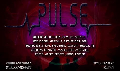 Pulse Season Start!  October. 18 + 19 #stockholmunderground #techno #artists #psytrance #dj #djs #music #lasers #technohearts